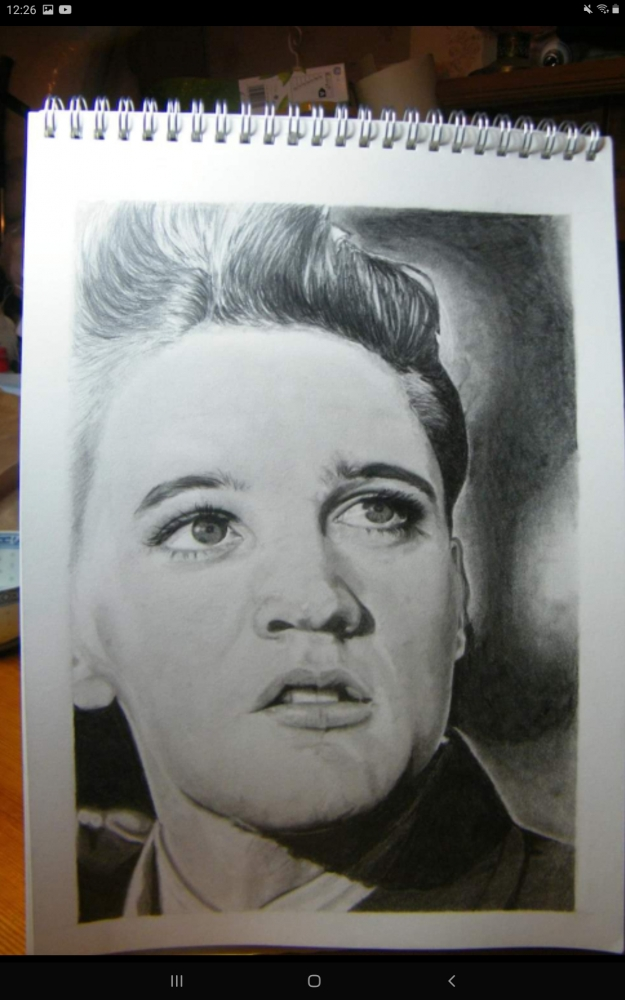 Elvis Presley par Debijw